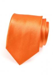 Oranžová pánska kravata