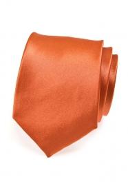 Tehlová pánska kravata