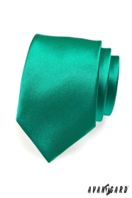 Kravata pre mužov tmavozelená