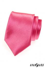 Pánska kravata sýto ružová