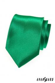 Výrazná zelená pánska kravata