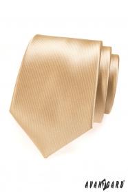 Béžová pánska kravata