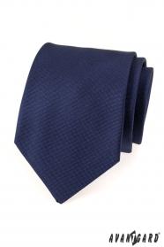 Tmavo modrá pánska kravata Avantgard