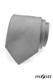 Šedá spoločenská kravata