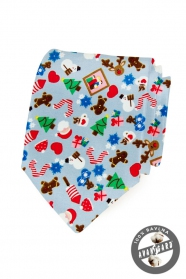 Vianočná bavlnená kravata
