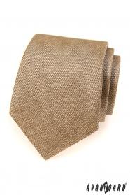 Pánska kravata Avantgard béžová