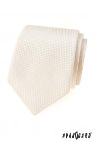 Smotanová štruktúrovaná kravata Avantgard Lux