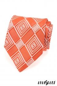 Pánska kravata LUX - Oranžová 70320