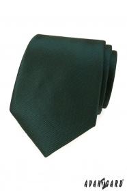 Tmavo zelená kravata
