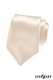 Pánska kravata odtien Ivory