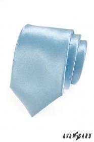Pánska kravata ľadová modrá