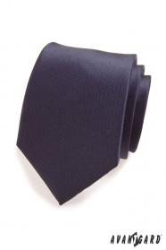 Pánska kravata v modrej navy mat