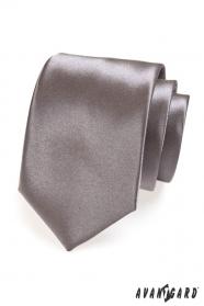 Grafitová kravata pre mužov