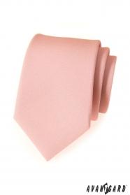 Moderná pudrová kravata