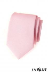 Ružová kravata Avantgard Lux