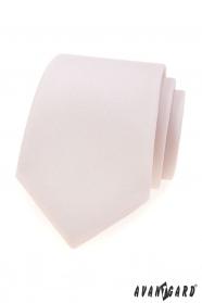 Pánska kravata Avantgard púdrové farby