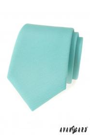 Matná kravata mätovej farby