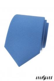 Svetlo modrá, matná kravata