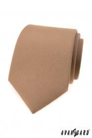 Pánska svetlo hnedá kravata