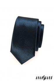 Kravata SLIM pre pánov modrá navy