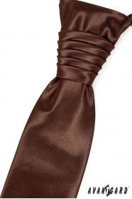 Francúzska kravata čokoládová