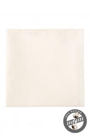 Pánska vreckovka smotanovom odtieni 100% bavlna