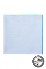 Modrá pánska vreckovka bavlna