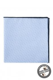 Vreckovka modrá čierna bavlna