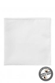 Pánska vreckovka z bavlny biela
