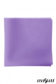 Pánska vreckovka vo farbe lila