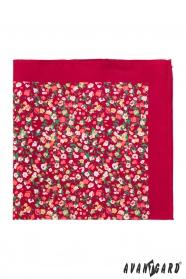 Vreckovka červená s malými kvetmi