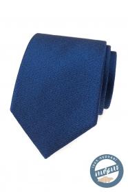 Elegantné modrá hodvábna kravata