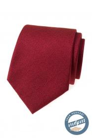 Hodvábna kravata v bordó