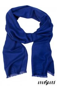 Pánsky spoločenský šál modrý
