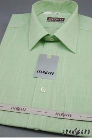 Zelená pánska košeľa Kiwi krátky rukáv