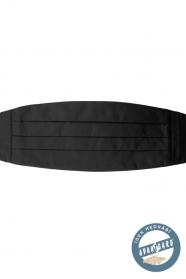 Hodvábny čierny smokingový pás
