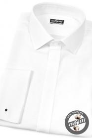 Biela košeľa 100% bavlna na MK