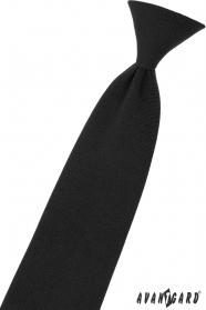 Čierna chlapčenská kravata 44 cm