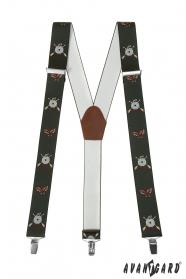 Poľovnícke traky šírky 3,5 cm