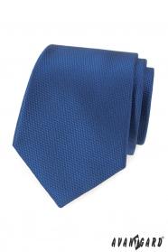 Tmavo modrá pánska kravata