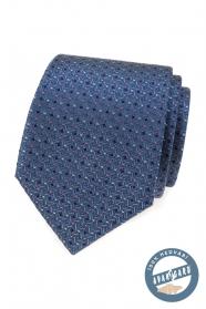 Luxusná hodvábna kravata s farebným vzorom
