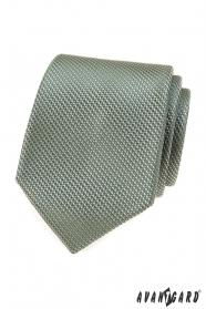 Olivovo zelená kravata