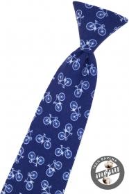 Chlapčenská kravata bicykel