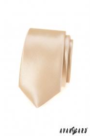 Úzká kravata Ivory