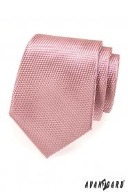 Pánska kravata AVANTGARD prášková ružová