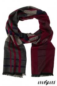 Viacfarebný elegantný šál